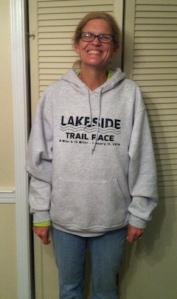 Beth in her 2014 Lakeside Hoodie